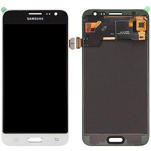 Tela Touch Display LCD Modulo Frontal Sem Aro Samsung Galaxy J3 4G Duos J320 Branco Original