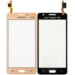 Tela Vidro Touch Screen Samsung Galaxy Gran Prime G530 G531 Dourado