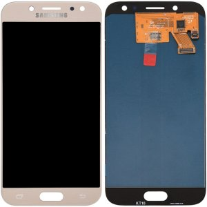 Tela Touch Display LCD Modulo Frontal Sem Aro Samsung Galaxy J5 Pro J530 Dourado