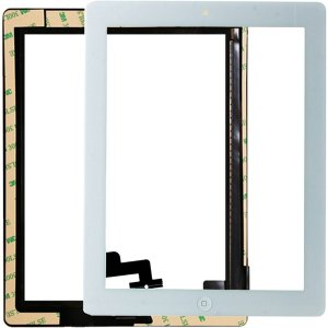 Tela Vidro Touch Screen Apple iPad 2 A1395 A1396 A1397 Branco