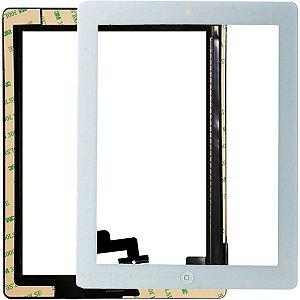 Tela Vidro Touch Screen Apple iPad 2 A1395 A1396 A1397 Branco