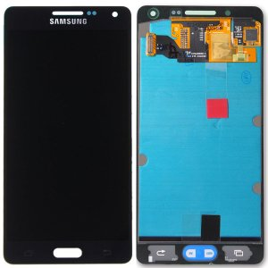 Tela Touch Display LCD Modulo Frontal Sem Aro Samsung Galaxy A5 4G DUOS A500 A500h Preto