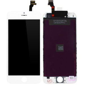 Tela Touch Display LCD Modulo Frontal Com Aro Apple Iphone 6 6g 4.7 A1549 A1586 A1589 Ip6 Branco