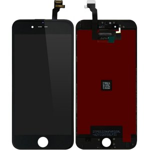 Tela Touch Display LCD Modulo Frontal Com Aro Apple Iphone 6 6g 4.7 A1549 A1586 A1589 Ip6 Preto