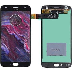 Tela Touch Display Lcd Modulo Frontal Sem Aro Motorola Lenovo Moto X4 Xt1900 Preto