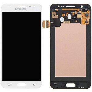 Tela Touch Display Lcd Modulo Frontal Sem Aro Samsung Galaxy J5 4g Duos J500 Ajuste de Brilho Branco
