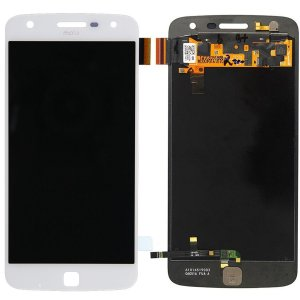 Tela Touch Display Lcd Modulo Frontal Sem Aro Motorola Moto Z Play Xt1635 Branco