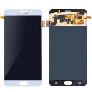 Tela Touch Display Lcd Modulo Frontal Sem Aro Galaxy Note 5 Sm-n920g N920 Branco