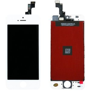 Tela Touch Display LCD Modulo Frontal Com Aro Apple iPhone 5S Branco