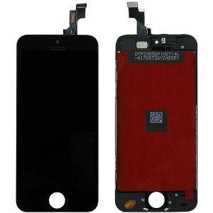 Tela Touch Display LCD Modulo Frontal Com Aro Apple iPhone 5S Preto