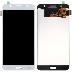 Tela Touch Display Lcd Modulo Frontal Sem Aro Samsung Galaxy J7 Metal Duos J710 Sem Ajuste de Brilho Branco