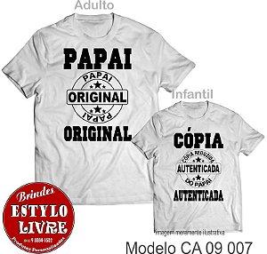 Kit Camiseta Papai E Filho Brindesestylolivrecombr