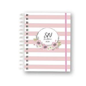 Meu Planner 2019 Listras Floral