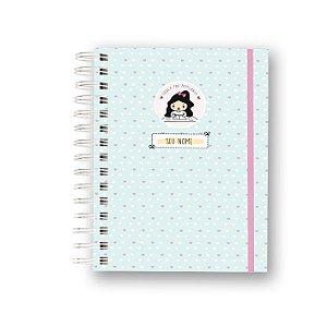 Caderno Funcional - Coleção Louca por Papelaria - Azul