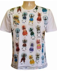 Camiseta Os Orixás Cores (ind)