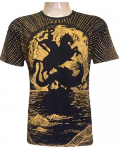 Camiseta São Jorge Raios (ind)