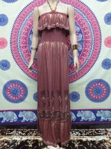 Vestido Longo Batik Ciganinha M