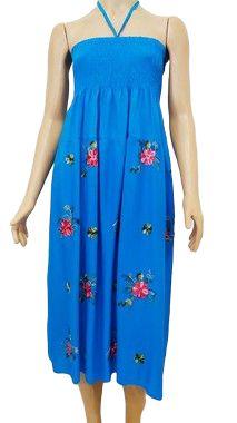 Vestido/Saia Azul Estampado U