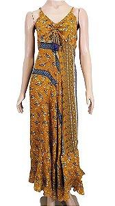 Vestido Longo Seda Indiano U
