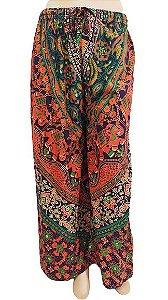 Calça Pantalona Indiana Estampada U