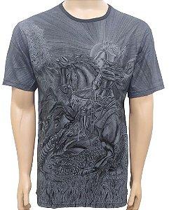 Camiseta São Jorge Grafite
