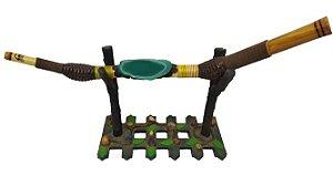 Tepi Ágata Verde ( Aplicador de Rapé)