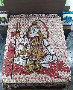 Colcha Estampada Shiva Casal
