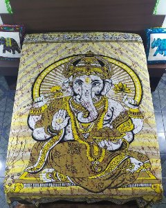 Colcha Estampada Ganesha Casal
