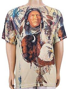 Camiseta Estampada Xamãnica G