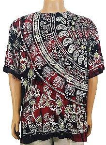 Camiseta Indiana Estampada EXG