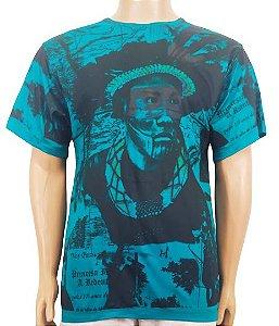 Camiseta Xamãnica Estampada M