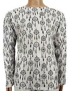 Camiseta Indiana Estampada M/L P