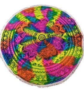 Colcha Redonda Mandala