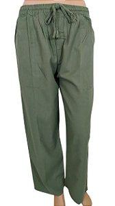 Calça Básica Verde G