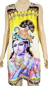 Vestido Curto Digital Krishna M