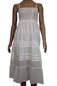 Vestido Curto Branco U