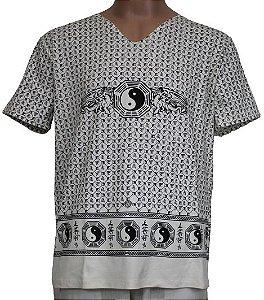Camiseta Gola V Yin Yang