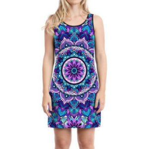 Vestido Regata Mandala Purple