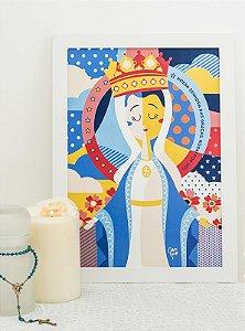 Poster Nossa Senhora das Graças