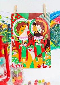 Poster Cosme & Damião