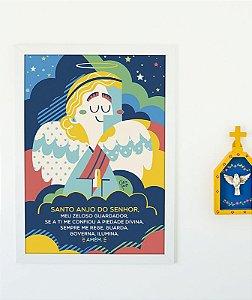 Poster Santo Anjo