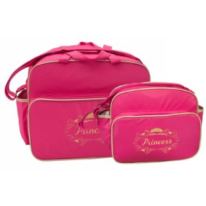 Conjunto Bolsa Maternidade Pink Princesa Lilian Baby