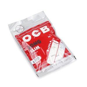 Filtro para Cigarro OCB Long Slim 6mm (Pacote com 100)
