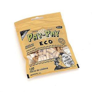Filtro para Cigarro Pay-Pay Eco Slim 6mm (Pacote com 120)