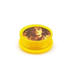 Dichavador de Plástico King Bob Hemp - Médio (Sortido)