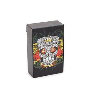 Cigarreira de Plástico - Caveira Mexicana 3