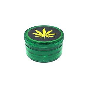 Dichavador De Plástico - Folha Verde 01