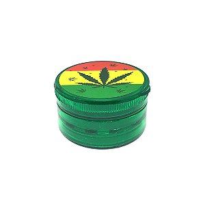 Dichavador De Plástico - Folha Verde 02