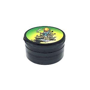 Dichavador De Plástico - Hemp Preto 01