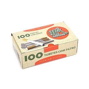 Tubo de Papel para Cigarros Hi Tobacco - Cx com 100